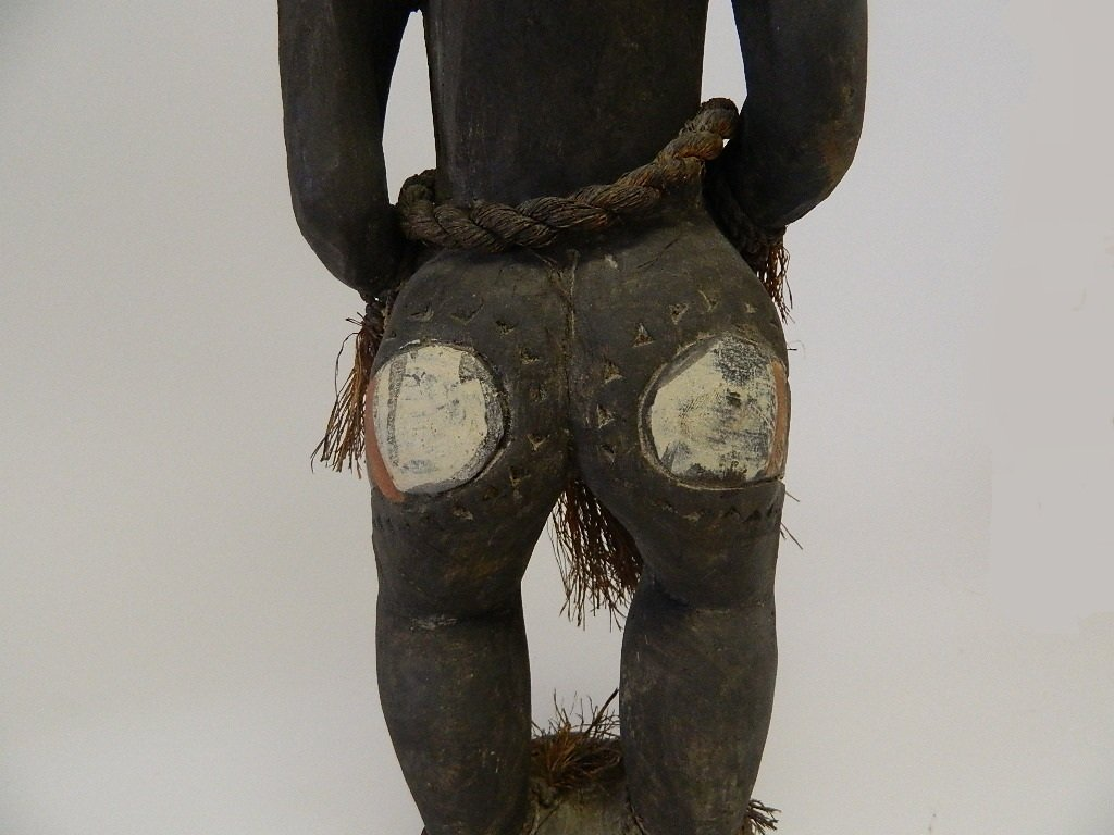 Papua New Guinea Female Ancestor Figure - 10