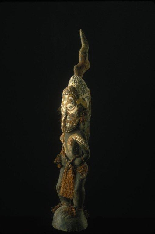 Papua New Guinea Female Ancestor Figure