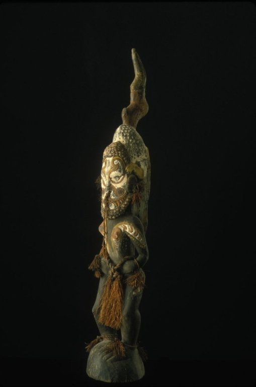 Papua New Guinea Female Ancestor Figure