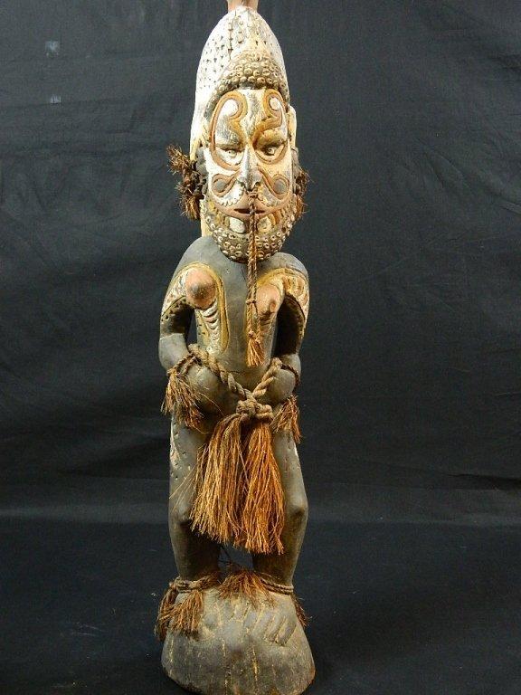 Papua New Guinea Female Ancestor Figure - 3
