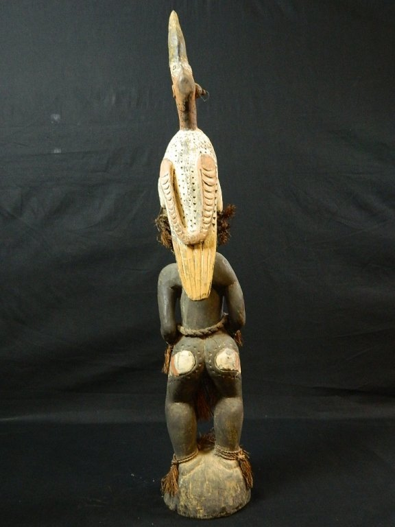 Papua New Guinea Female Ancestor Figure - 5