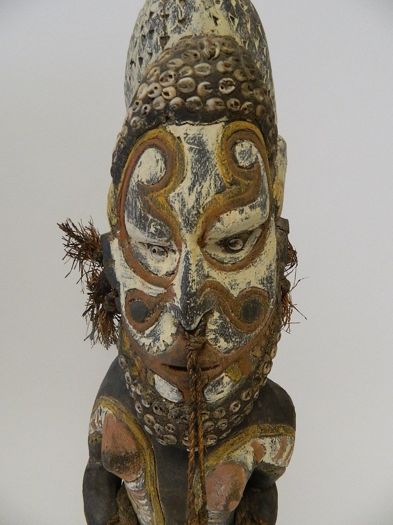 Papua New Guinea Female Ancestor Figure - 6