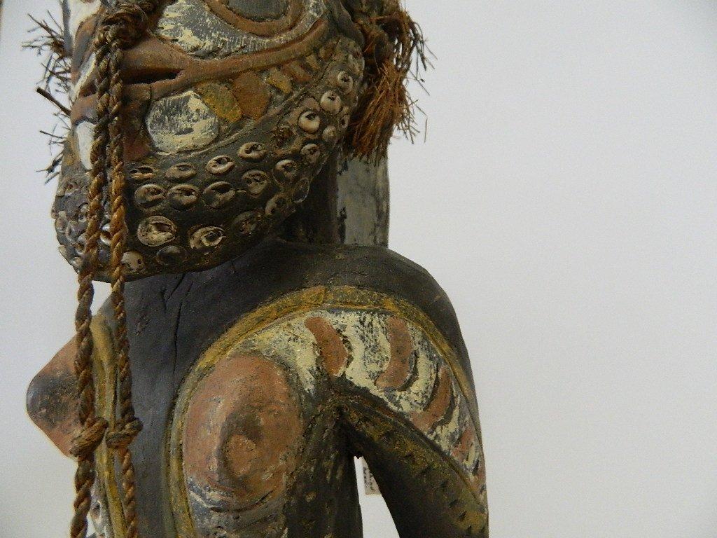 Papua New Guinea Female Ancestor Figure - 7
