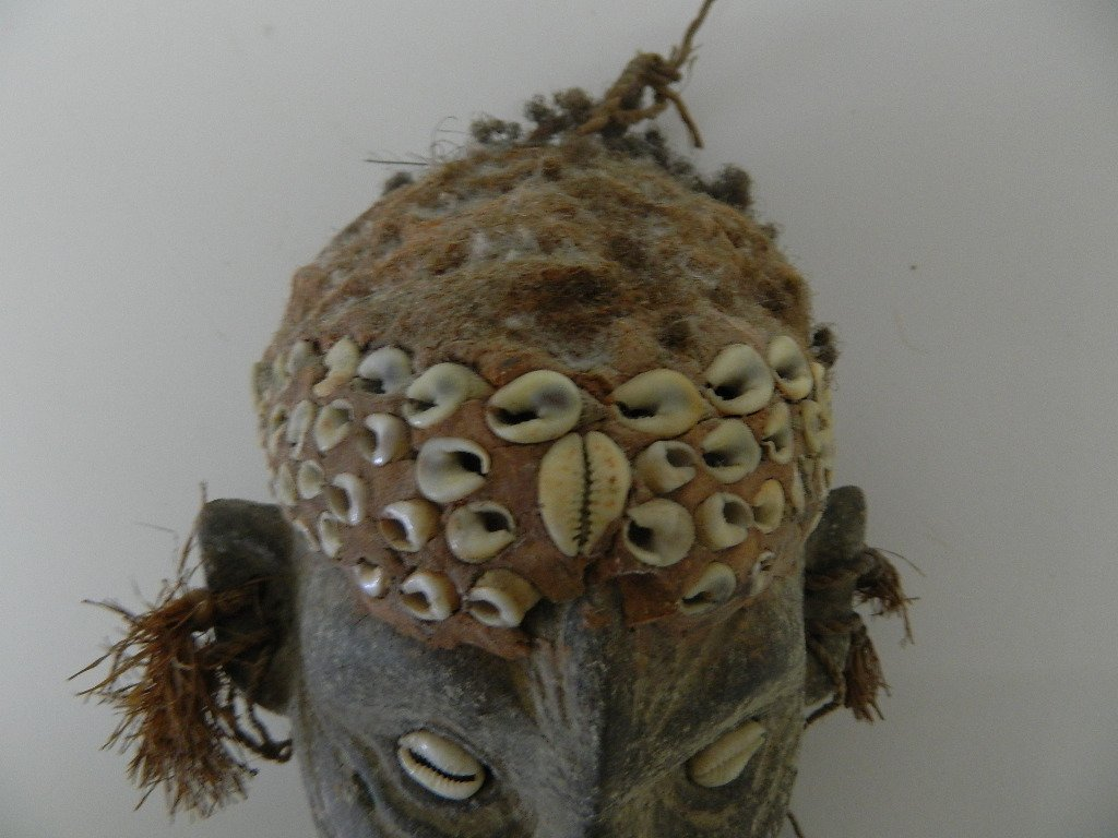 Papua New Guinea Female Figure Carving - 7