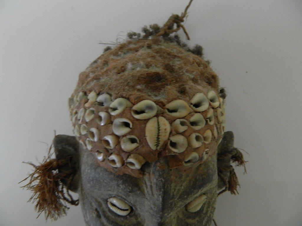 Papua New Guinea Female Figure Carving - 7