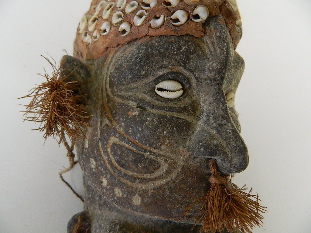 Papua New Guinea Female Figure Carving - 8