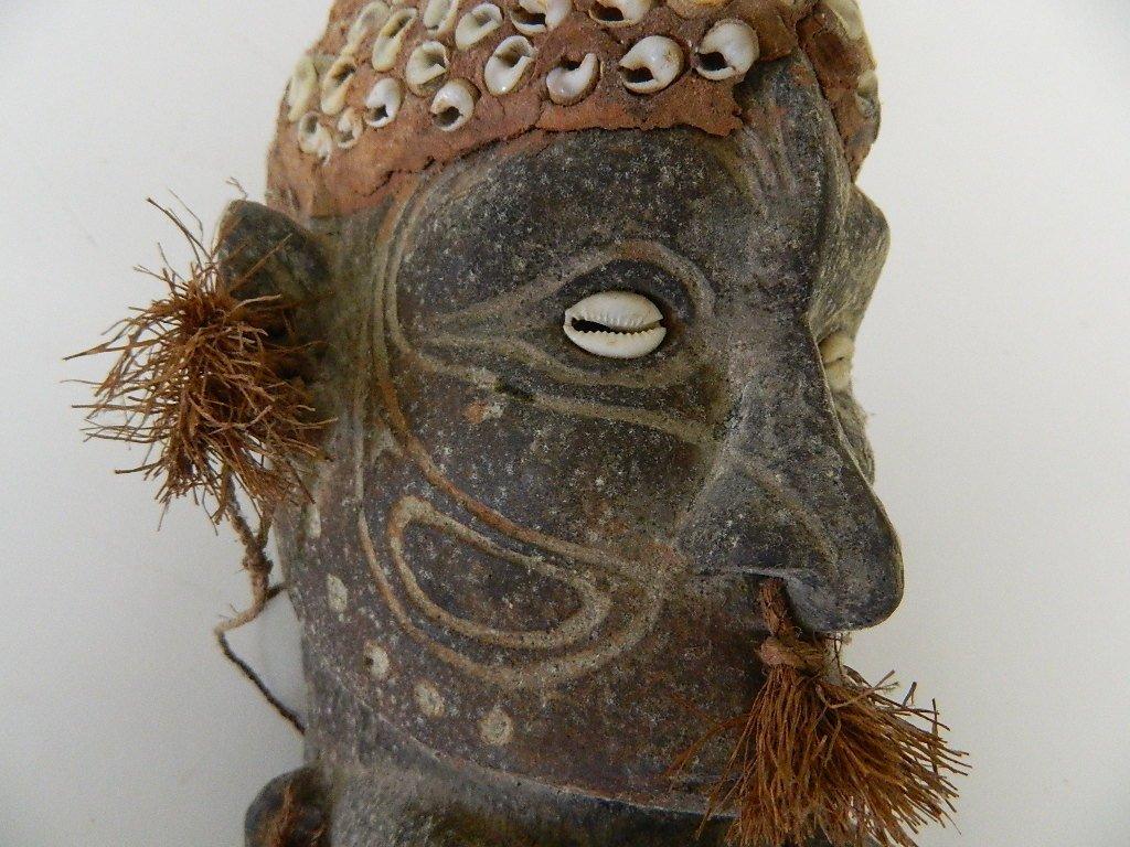 Papua New Guinea Female Figure Carving - 8