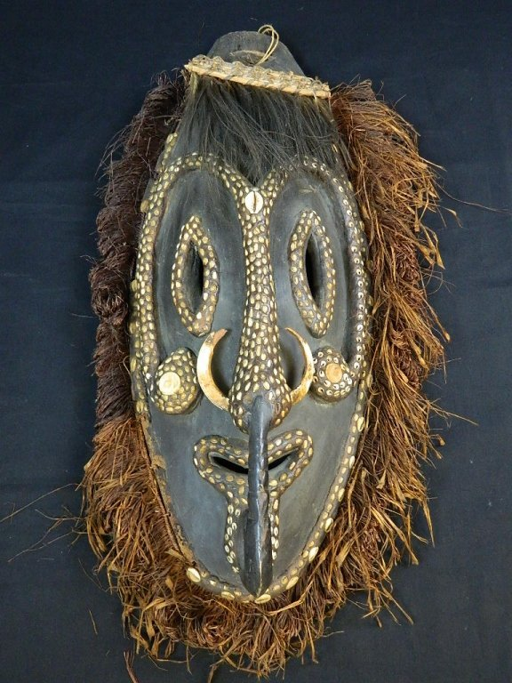 Papua New Guinea Mask Fom The Biwat Village