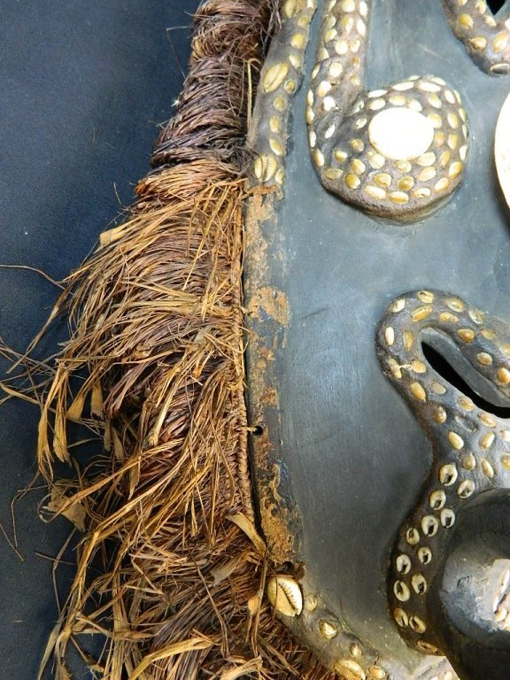 Papua New Guinea Mask Fom The Biwat Village - 2