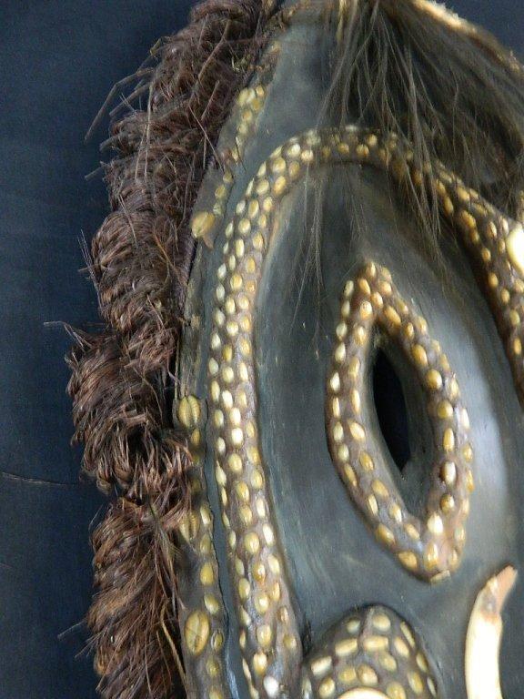 Papua New Guinea Mask Fom The Biwat Village - 3