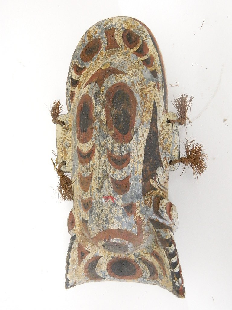 Papua New Guinea Wooden Head Carving - 4
