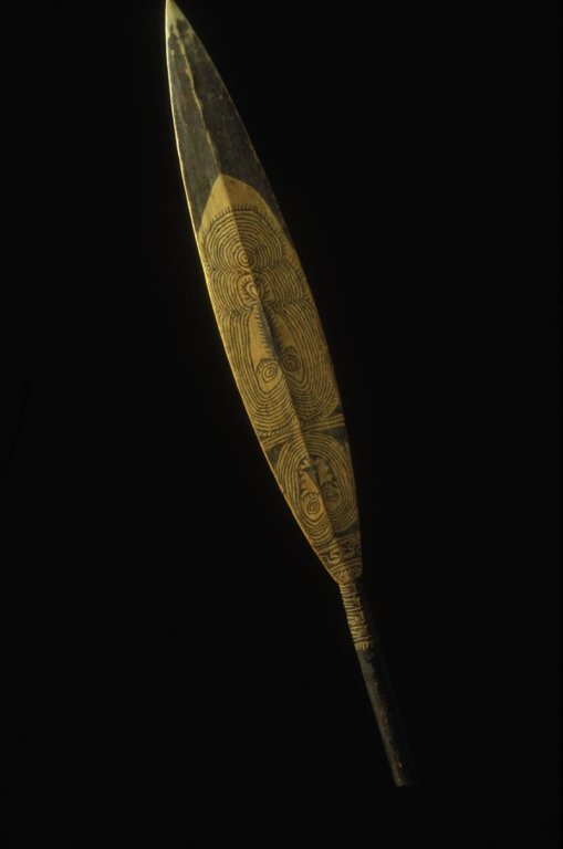 Papua New Guinea Canoe Paddle