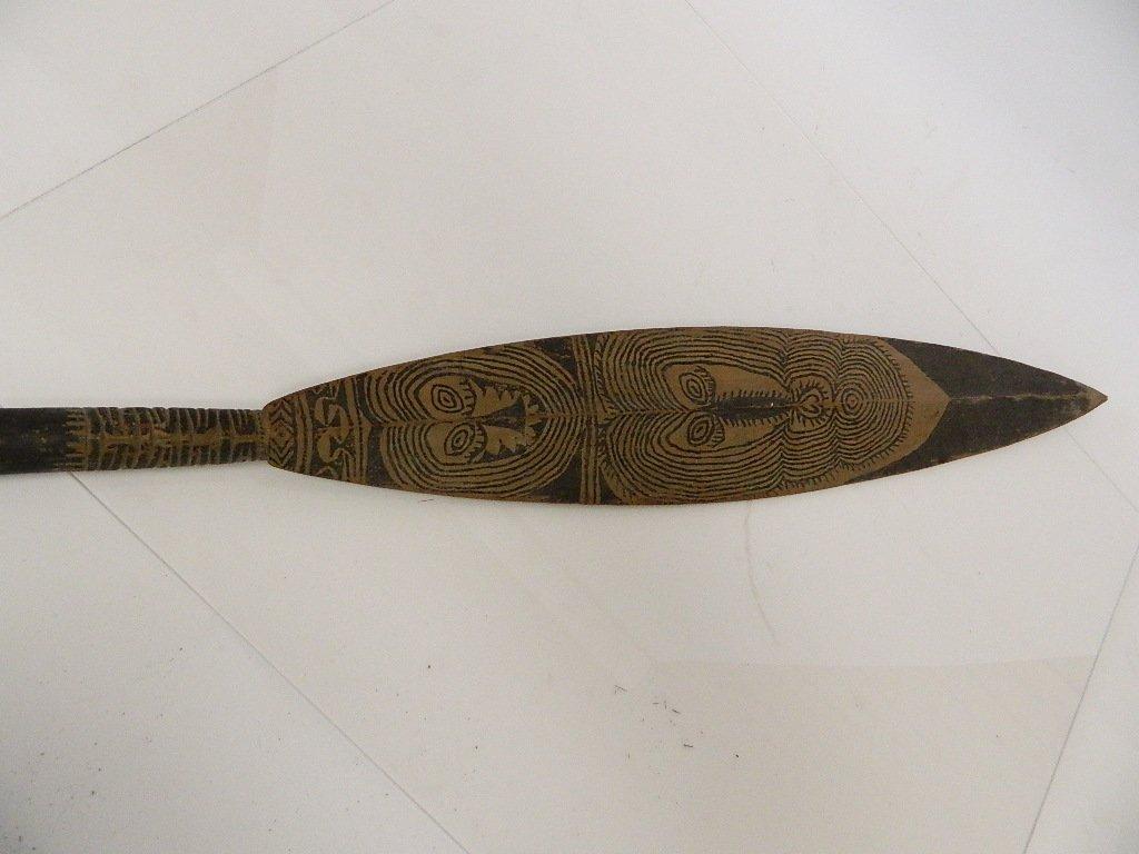 Papua New Guinea Canoe Paddle - 4
