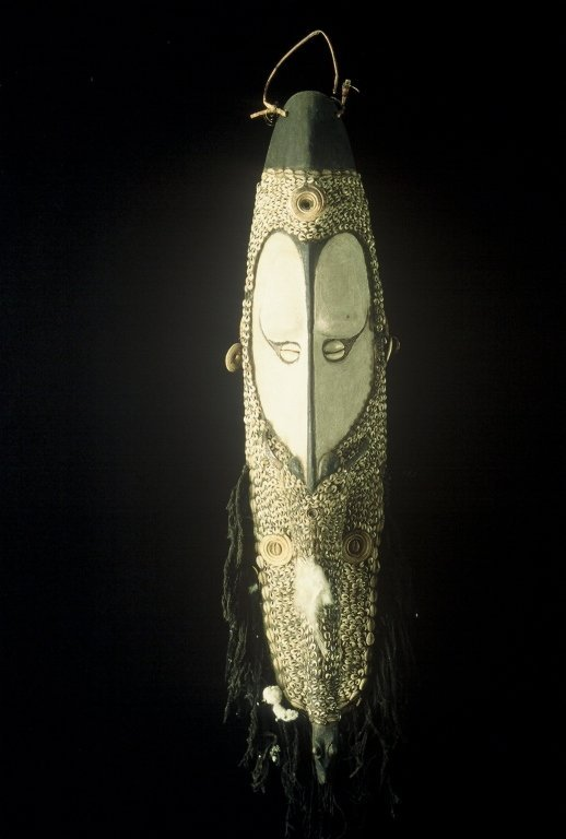 Papua New Guinea Mwal Mask from LaCasse Collectio