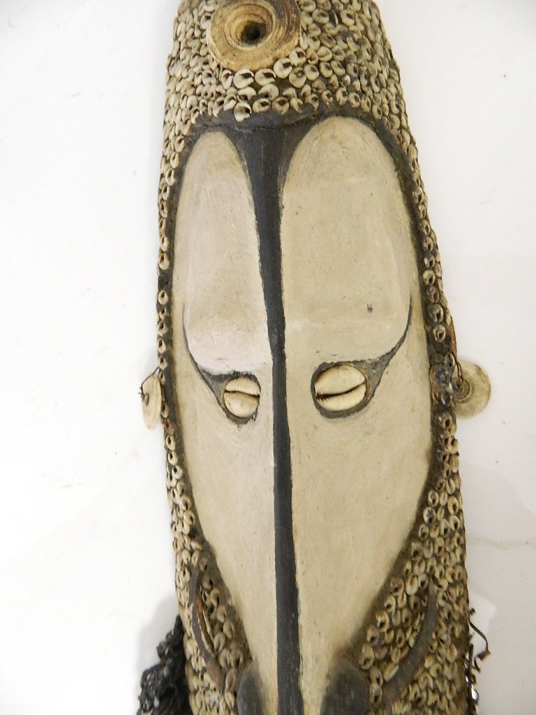 Papua New Guinea Mwal Mask from LaCasse Collectio - 5