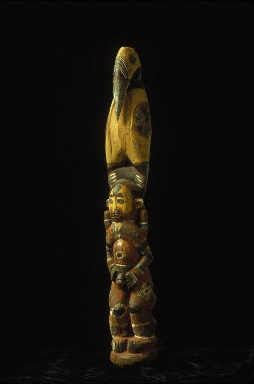Papua New Guinea Maprik Standing Figure