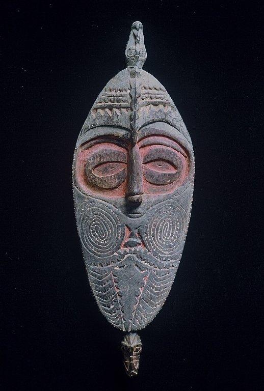 Papua New  Guinea Flute Mask