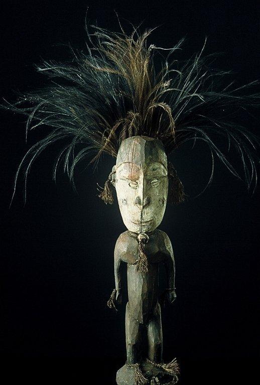 Papua New Guinea Standing Male Figure