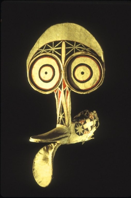 Baining Fire Dance Mask from East New Britain