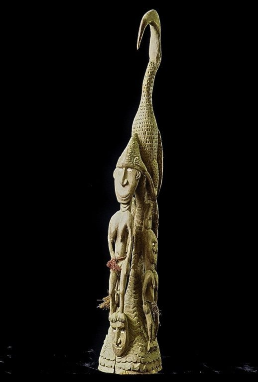 Papua New Guinea Standing Figure