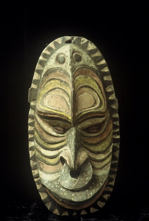 Papua New Guinea  Ancestor Mask