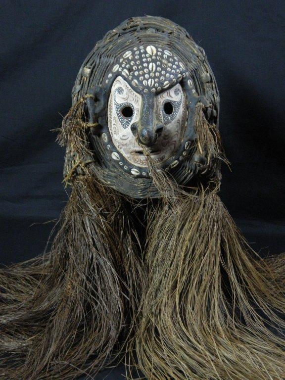 Papua New Guinea Woven Mask