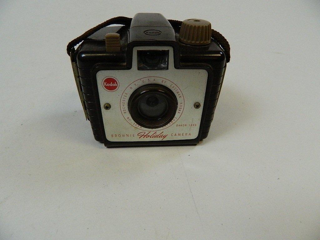 Vintage Kodak Brownie Holiday Camera w/ Dakon Lens