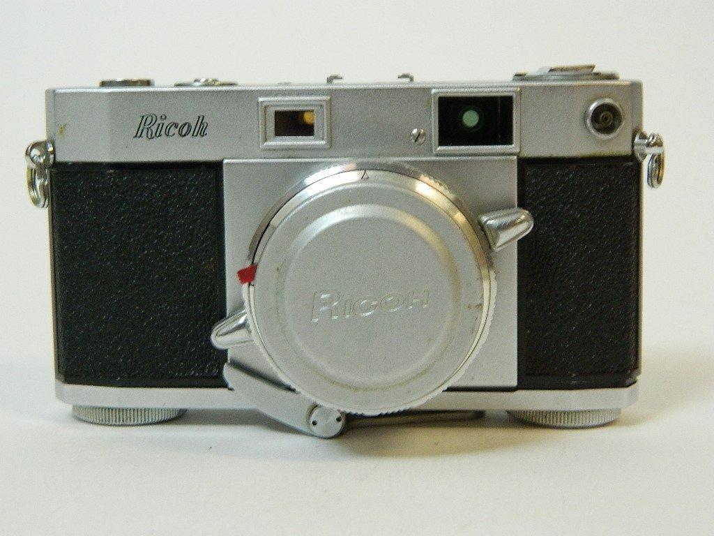 Ricoh 500 Camera w/ SLV Shutter and Riken Lens