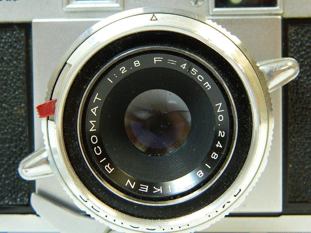 Ricoh 500 Camera w/ SLV Shutter and Riken Lens - 2