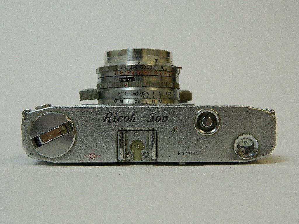 Ricoh 500 Camera w/ SLV Shutter and Riken Lens - 4