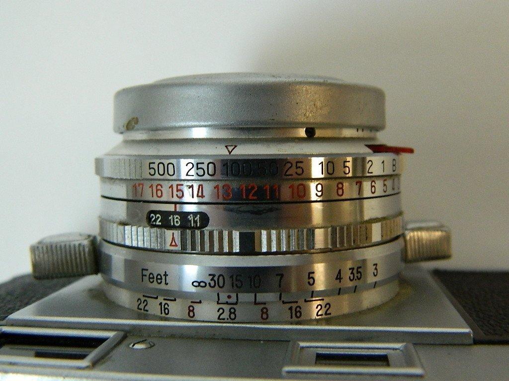 Ricoh 500 Camera w/ SLV Shutter and Riken Lens - 6