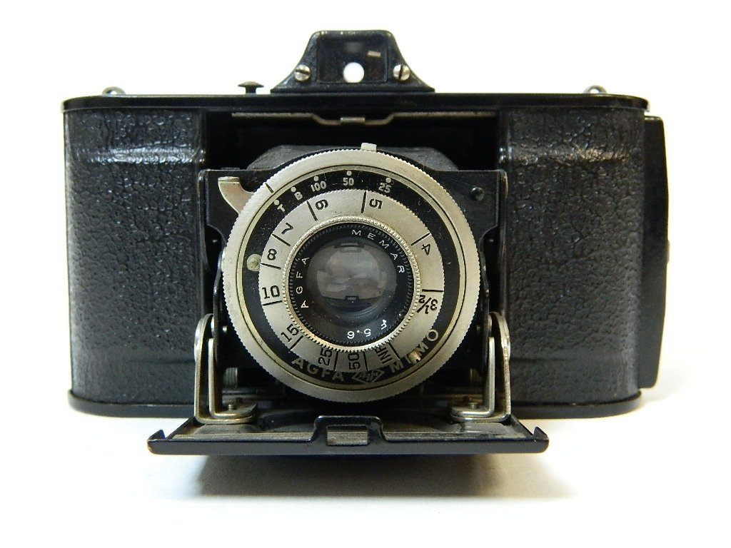 1939 AGFA Full Frame Camera Memar 5.6 Lens