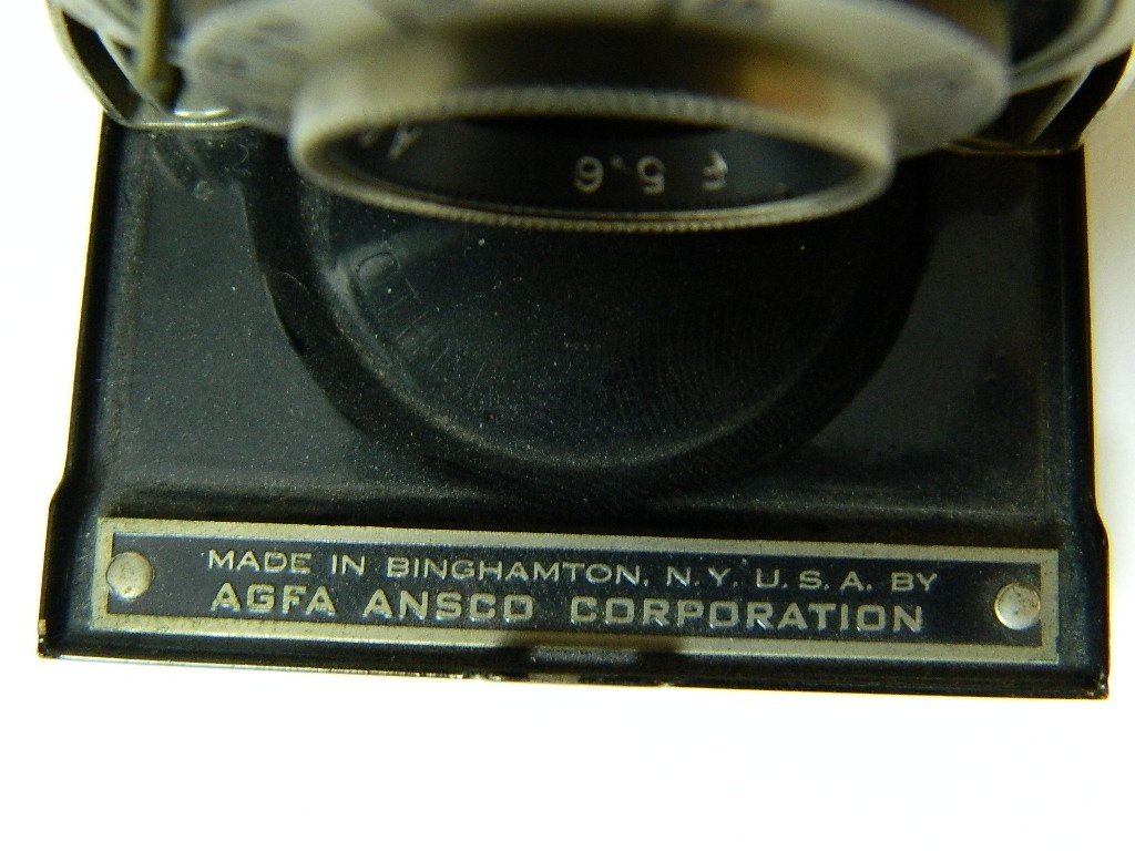 1939 AGFA Full Frame Camera Memar 5.6 Lens - 2
