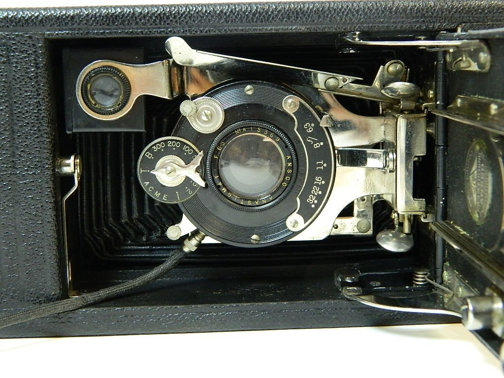 1925 Ansco Automatic No 1-A Folding Roll Camera - 5