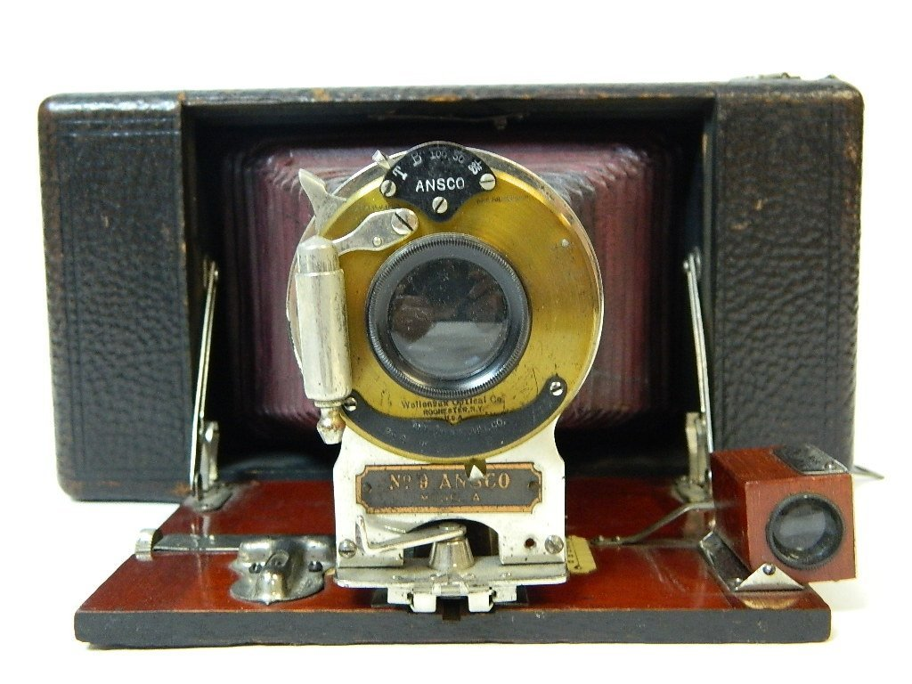 Vintage Ansco Folding No.9 Model A Camera