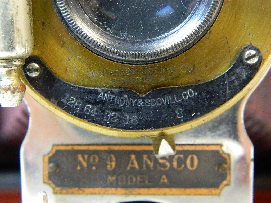 Vintage Ansco Folding No.9 Model A Camera - 2
