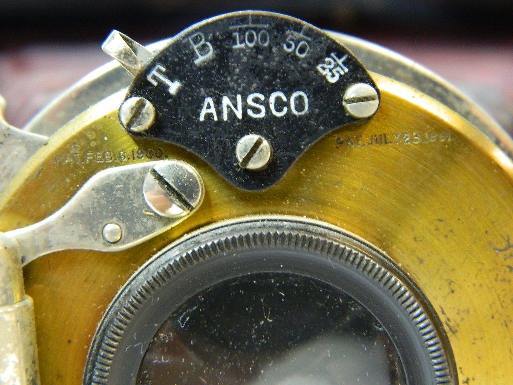 Vintage Ansco Folding No.9 Model A Camera - 3