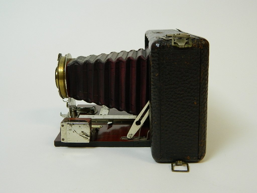 Vintage Ansco Folding No.9 Model A Camera - 5