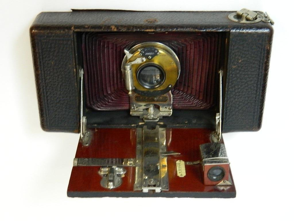 Vintage Ansco Folding No.9 Model A Camera - 7