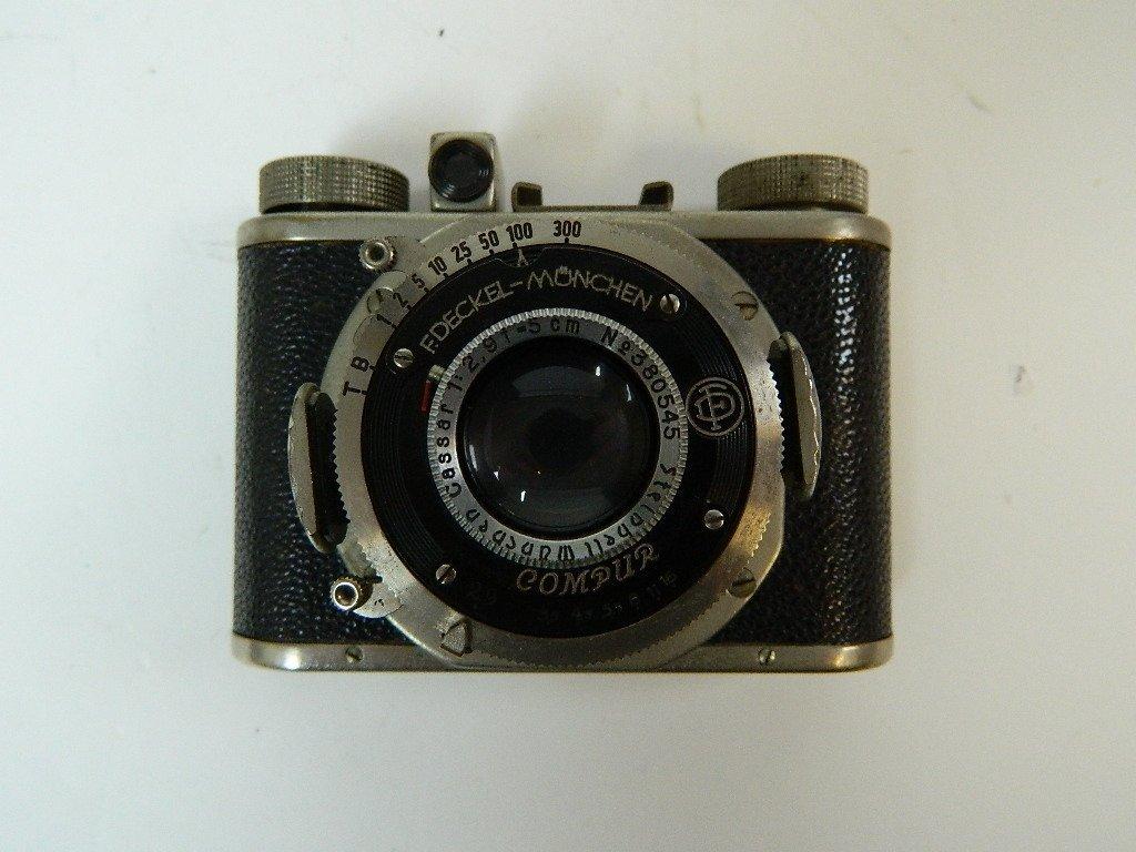 Gewirette 1937 Camera w/ F. Deckel-Monchen Lens