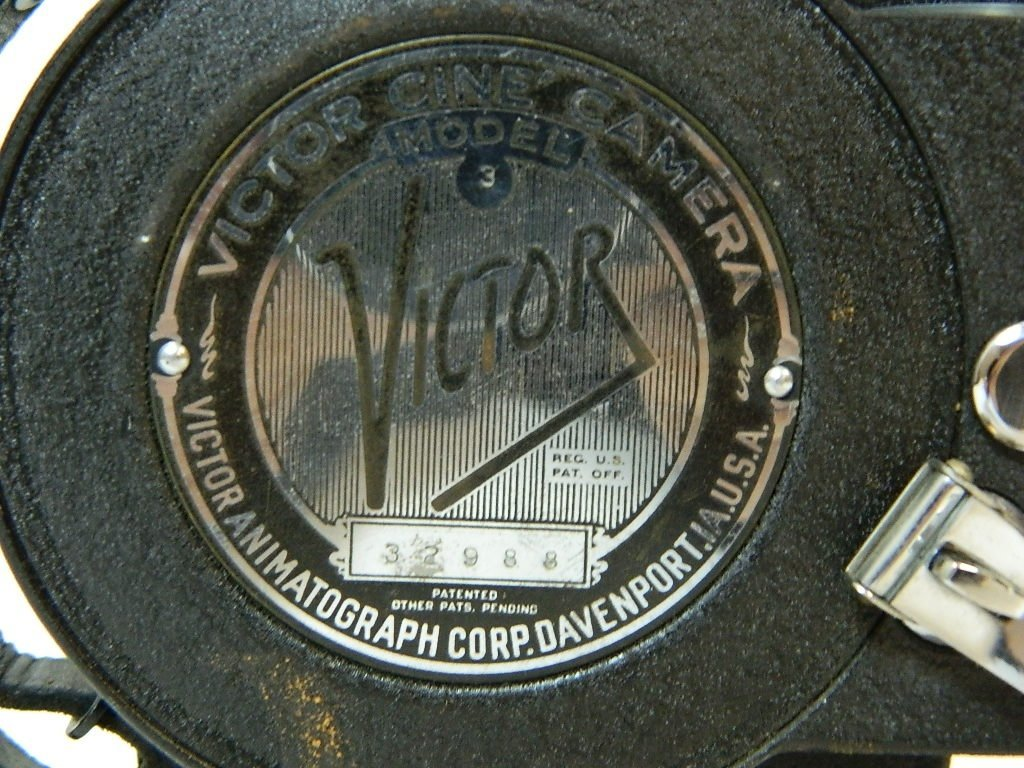 Victor Animatograph Corp. Cine' Movie Camera - 5