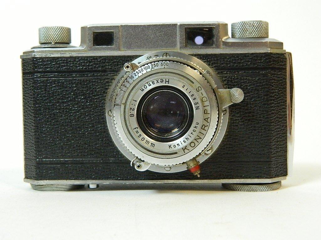Konica Corp. 50mm Konirapid-S Lens Camera