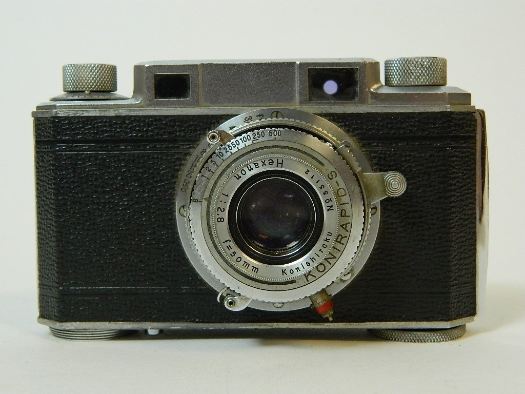 Konica Corp. 50mm Konirapid-S Lens Camera - 5