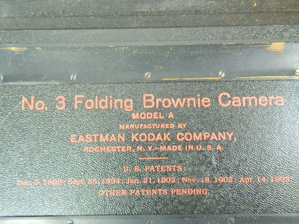 Eastman Kodak Co. No.3 Folding Brownie Camera - 7