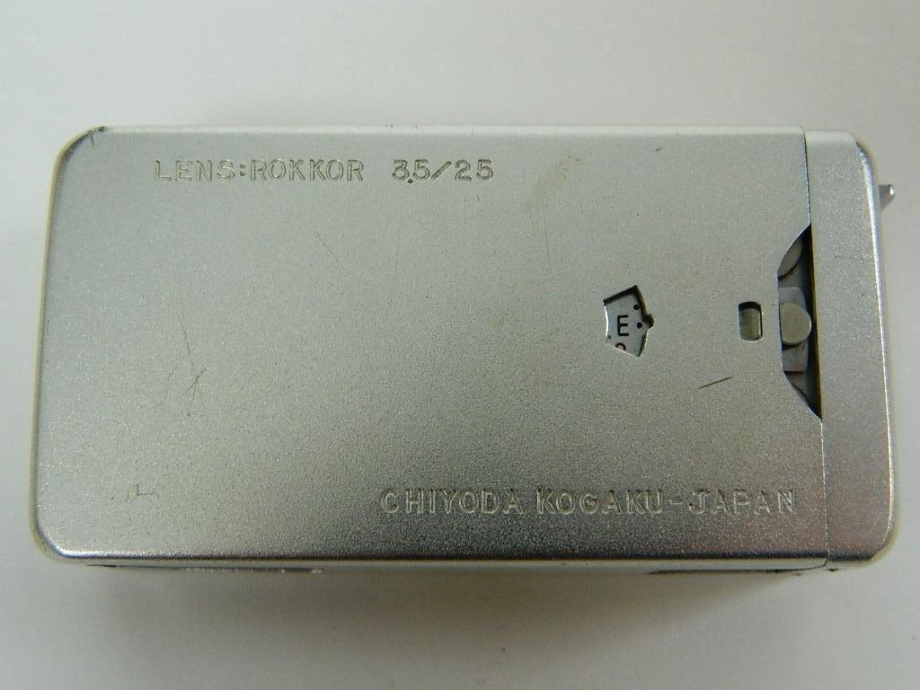 "Minolta 16"" Subminiature Rokker 3.5/25 - 4"