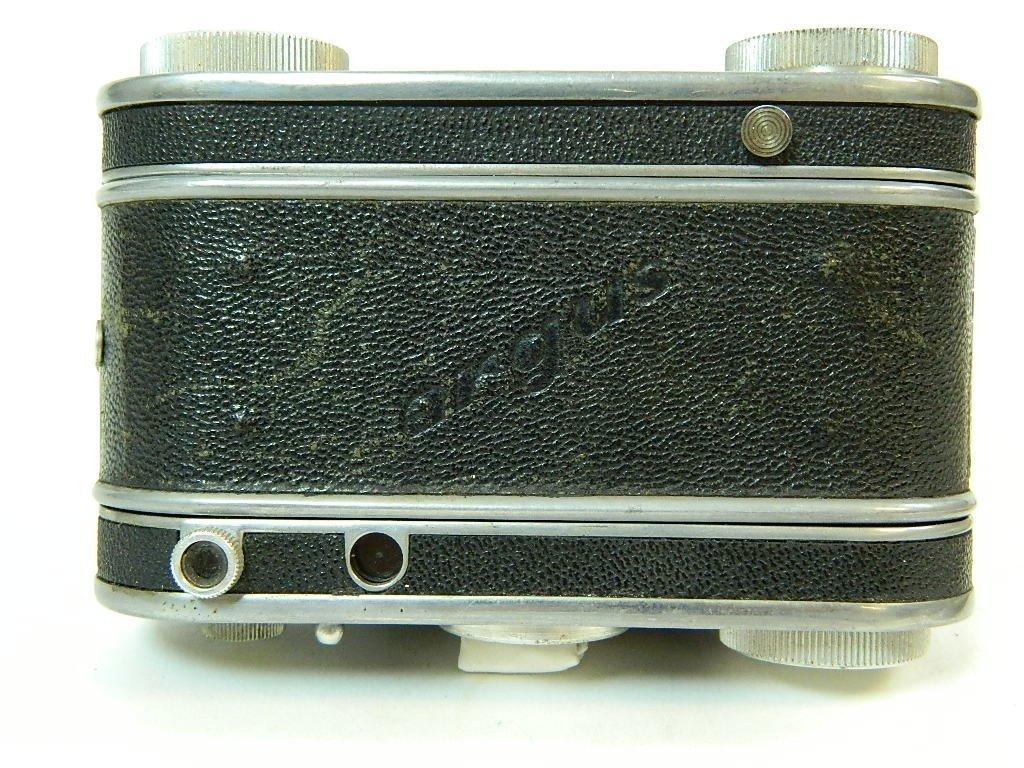 "Argus Model ""K"" Camera w/ Operators Manual - 4"