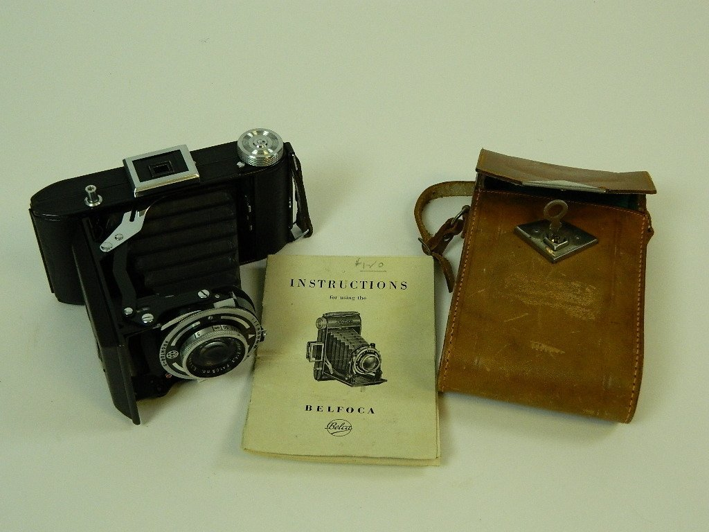 Belca-Werk Belfoca Camera w/ Case & Instructions