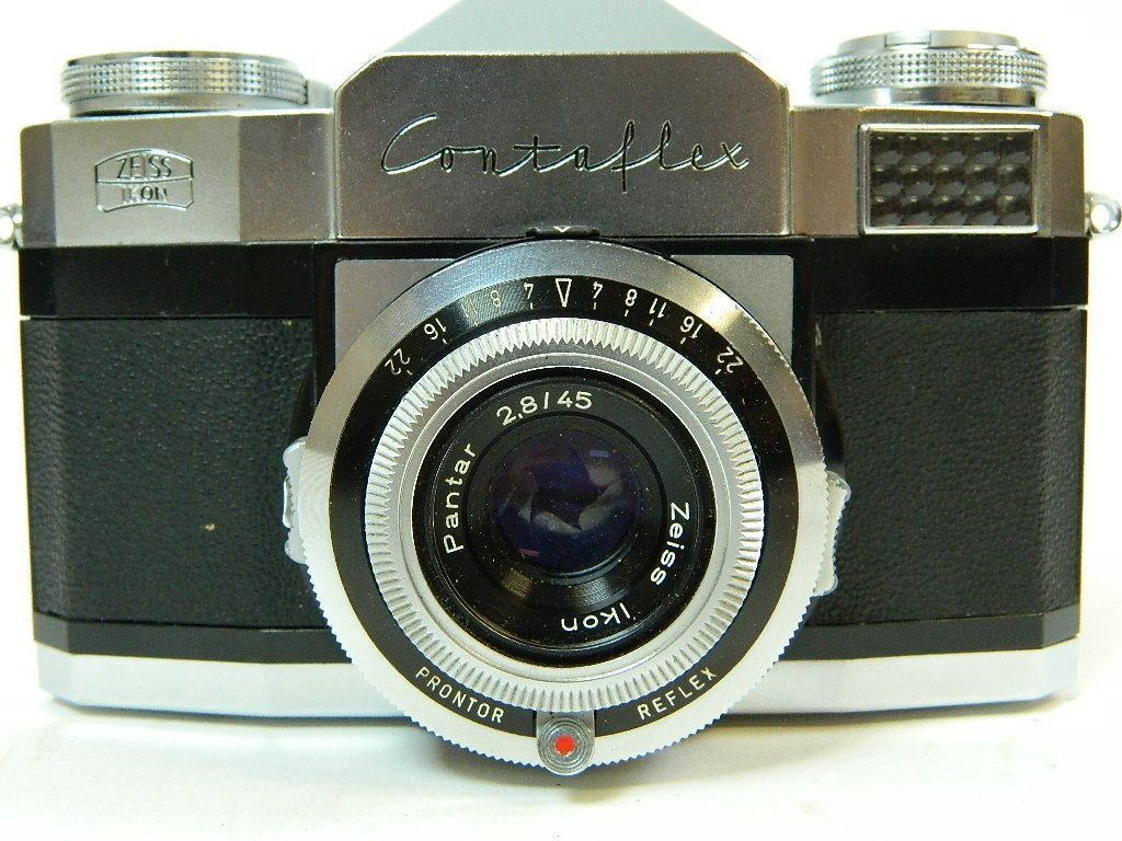 Contaflex Pantar 2.8/45 Camera by Ziess Ikon