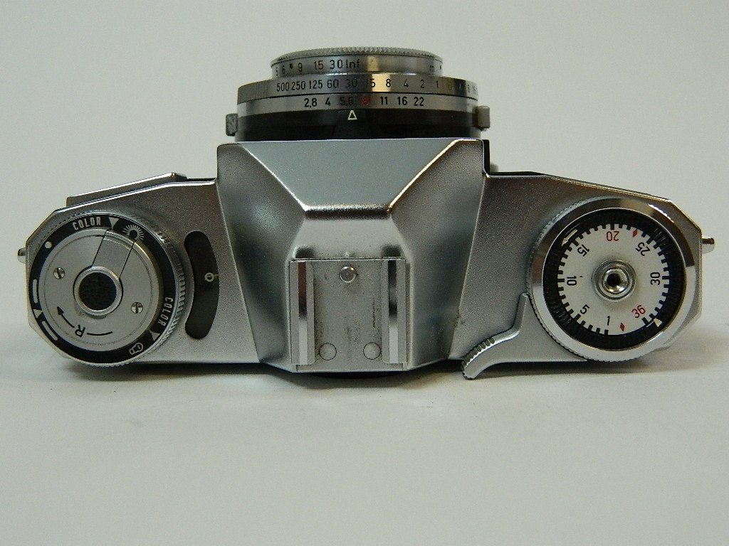 Contaflex Pantar 2.8/45 Camera by Ziess Ikon - 6