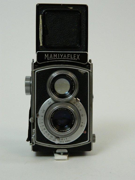 1952 Mamiyaflex II Camera w/ Sekor F3.5 Lens